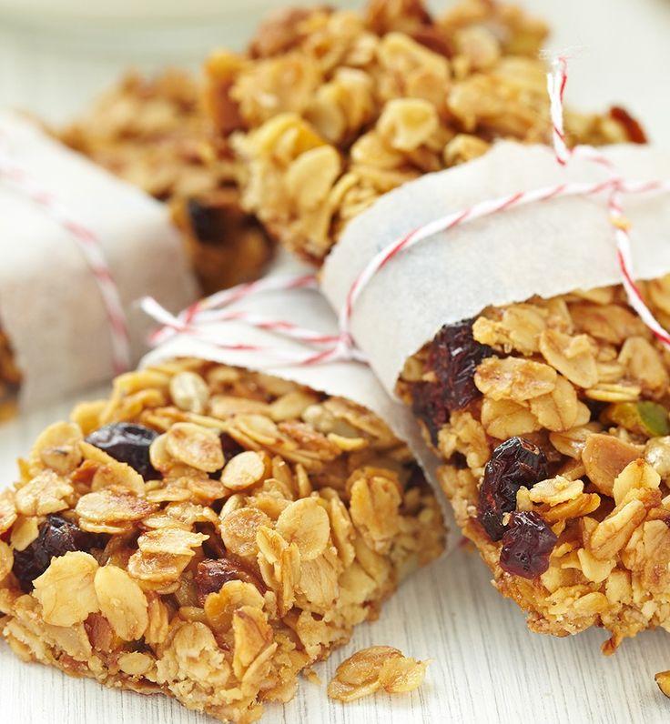 Barras de Granola con Nutty Berry Mix. Ingredientes en www.monciel.co