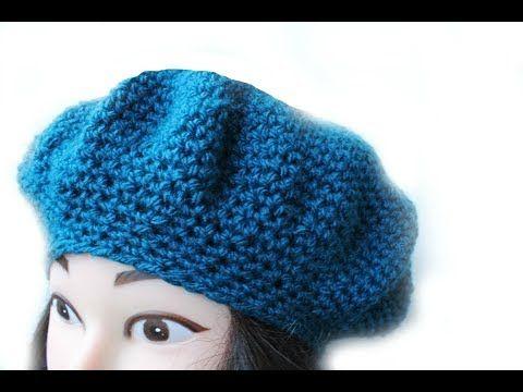 Easy Crochet beanie hat adult teen 20