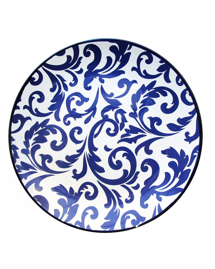 """Spotted this """"Scroll"""" 17.5in Platter on Rue La La. Shop (quickly!)."""
