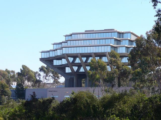 San Diego, CA UCSD Geisel Library view from the north | Flickr - Photo Sharing!