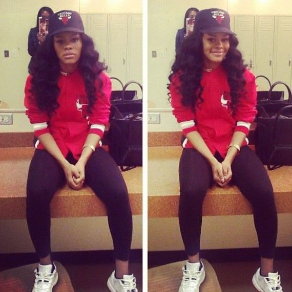 Teyana Taylor-sneaker casual