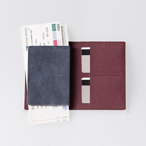 Travel Wallet / Minimalist Washable Paper Passport by SIDONIEYANG, $42.00