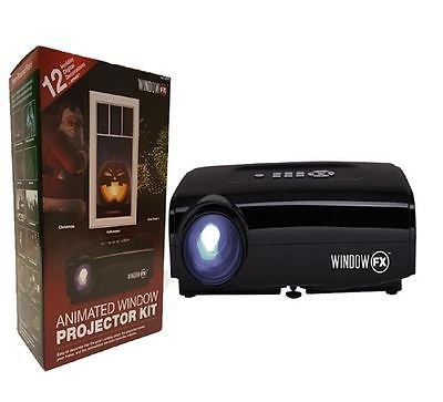 #Windowfx projector animated window wall #holiday #seasonal 12 digital display ki, View more on the LINK: http://www.zeppy.io/product/gb/2/112156828774/