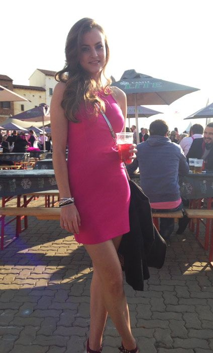 GLAM girls spotted at the Pink Punter event | Glamour South Africa