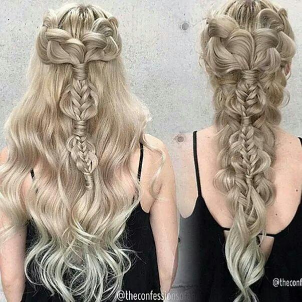 Khalessi hair