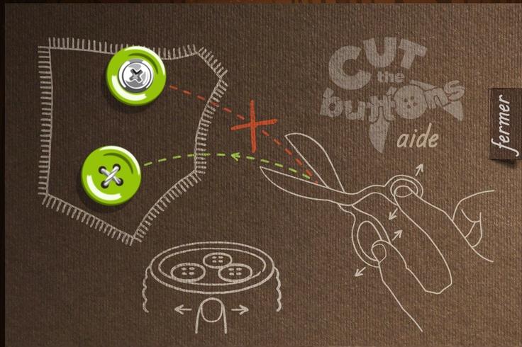 Cut the Button game / beautiful Tutorial #iOs #iPhone http://softwarelint.com/
