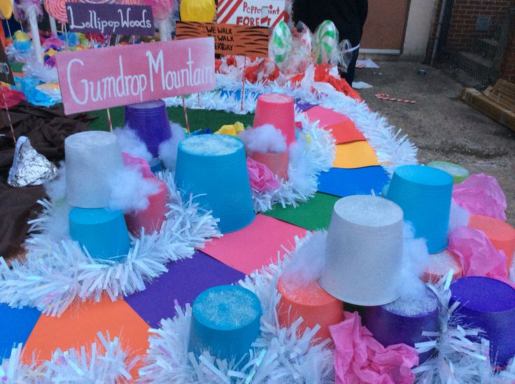 Gumdrop Mountain Candyland Homecoming Float In 2019