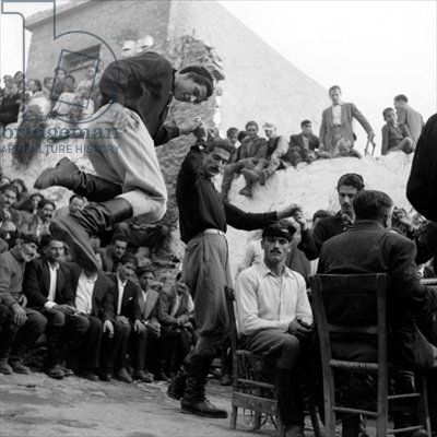 Wedding at Anogia, Crete, 1954 Photographer Dimitris Harissiadis 1911-93, Benaki Museum, Athens, Greece