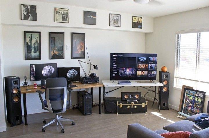 Genius Game Rooms Decor Ideas Decorholic Co In 2020 Game Room Decor Home Office Setup Room Setup
