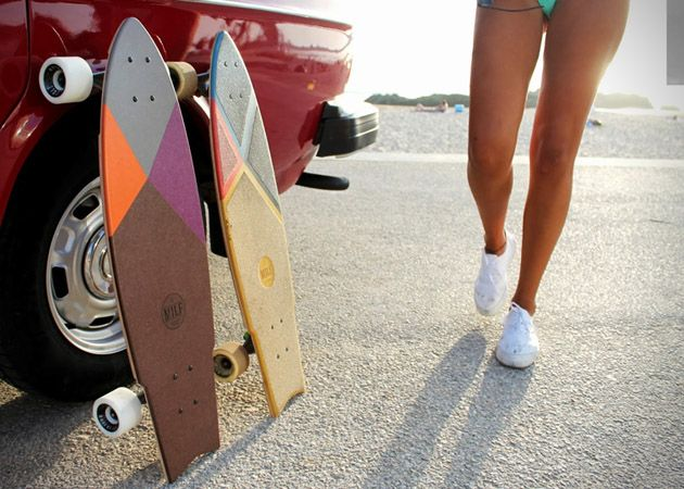 Colorful Milf Skateboards are Awesome