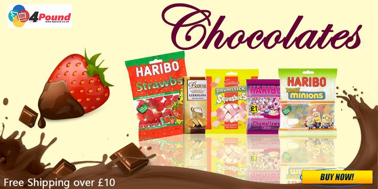 Order Tasty Chocolates at #4pound store.Get amazing Discounts Here !!!