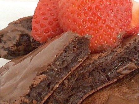 Brownie FIT de frigideira - Sem culpa nenhuma