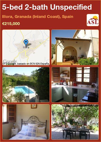 5-bed 2-bath Unspecified in Illora, Granada (Inland Coast), Spain ►€215,000 #PropertyForSaleInSpain