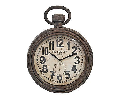 d cor d 39 un atelier d 39 artiste horloge fer et bois a home sweet home pinterest. Black Bedroom Furniture Sets. Home Design Ideas