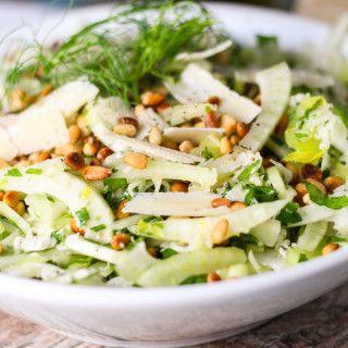 Fennel Celery Salad platingsandpairings.com