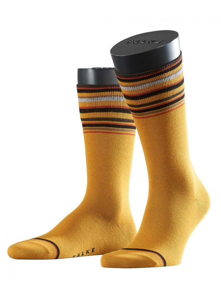 FALKE socks in yellow: Top Ringel