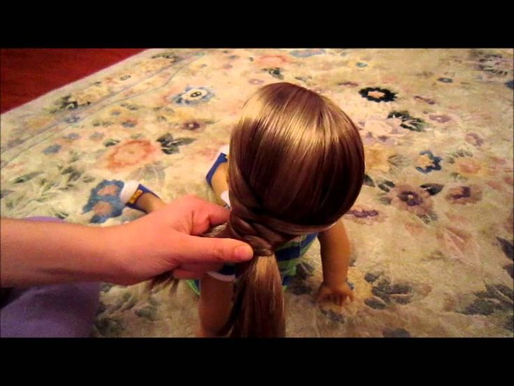 How to do an easy & cute hairstyle on your American Girl doll!
