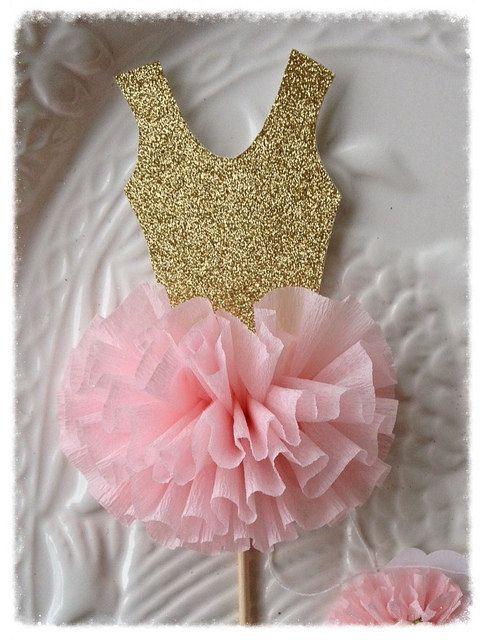 Anniversaire décoration ballerine Tutu de gâteau pour par JeanKnee