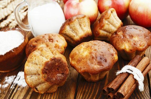 Egyszerű almás-fahéjas muffin, amelyből egy adag soha nem elég   femina.hu