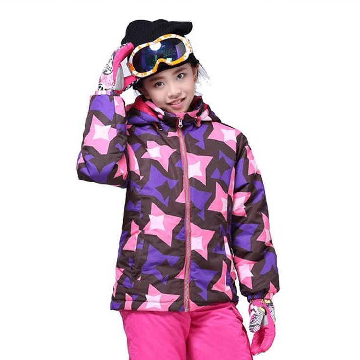 72.00$  Buy now - http://ali9wn.shopchina.info/go.php?t=32725890771 - Winter Kids clothes Active Children sport ski Jackets Collar Zipper Girl and boys outwear Thick Keep Warm Snow Jacket TJ606  #buymethat