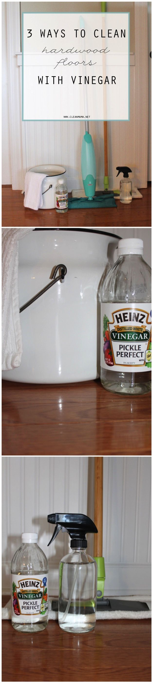 Ever Tried Vinegar For Washing Your Hardwood Floors Check