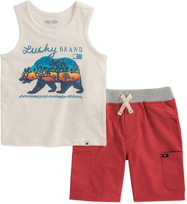 Lucky Brand Boys Shorts Set