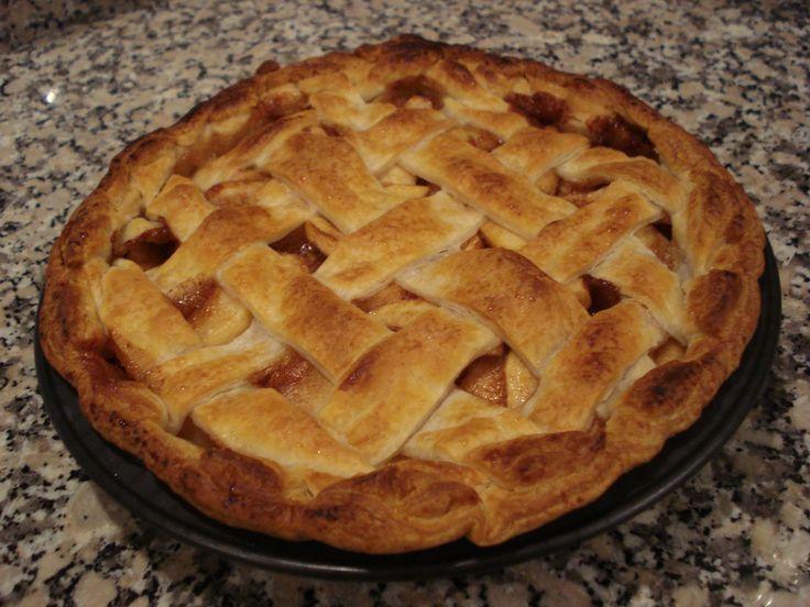 Tarte de Maçã Americana (Apple Pie)