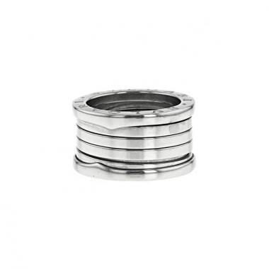 Bague Bulgari B.Zero1 grand modèle en or blanc