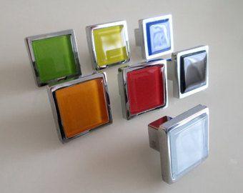 Glas-Knöpfe / Kommode Schublade Knöpfe zieht von LynnsHardware