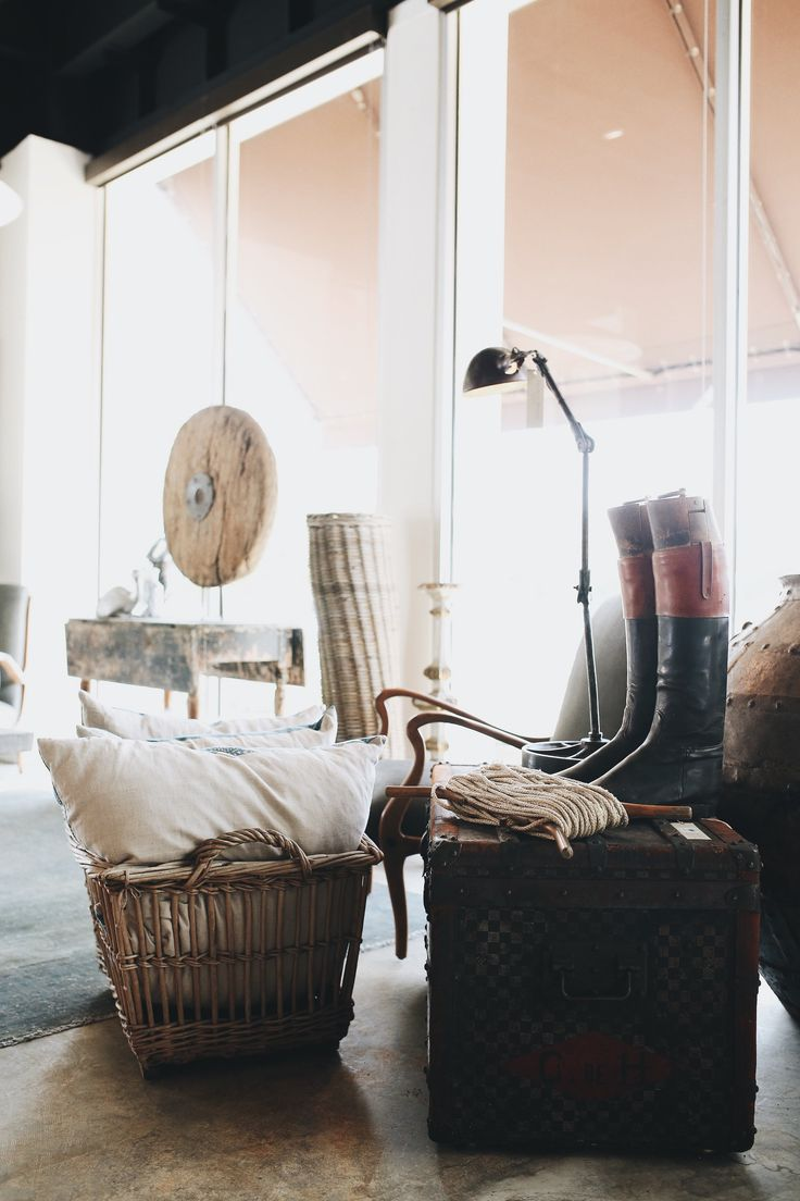 Boots And Baskets And More In Our Houston Store. Georgia Brown Home By  Shane Brown