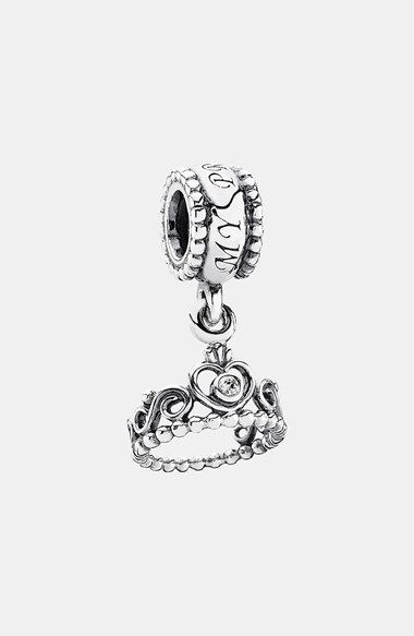 Free shipping and returns on PANDORA 'My Princess' Dangle Charm at Nordstrom.com. An ornate crystal-inlaid crown dangles from a silver charm fit for a princess.