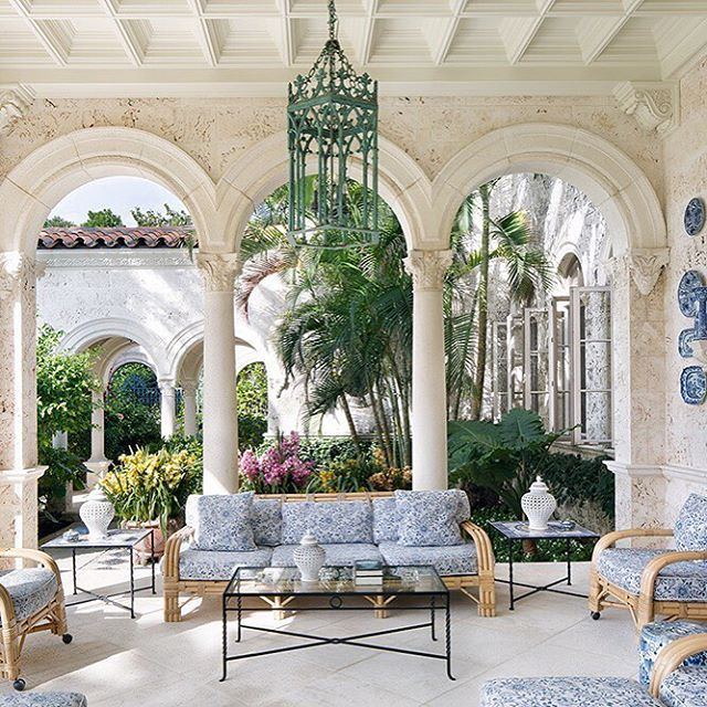 """Ocean view. The new book """"Palm Beach Chic"""" chronicles the island's most beautiful h..."""