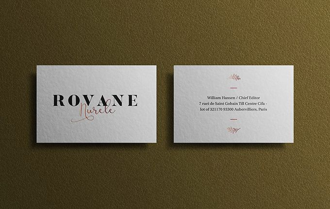 Free Branding Business Card Mockup With Texture Background Effect Business Card Mock Up Business Card Psd Business Card Branding