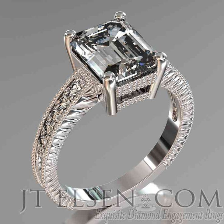 60 best emerald cut engagement rings images on