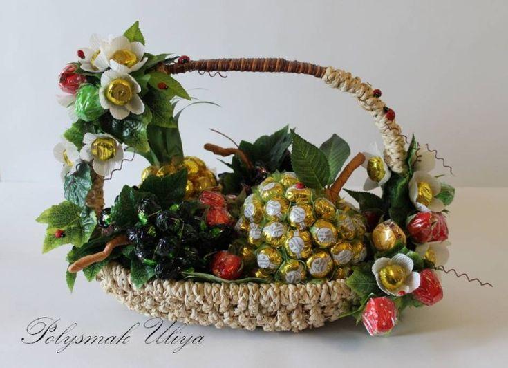 Gallery.ru / Фото #33 - Ягоды, фрукты из конфет - pinata-kr