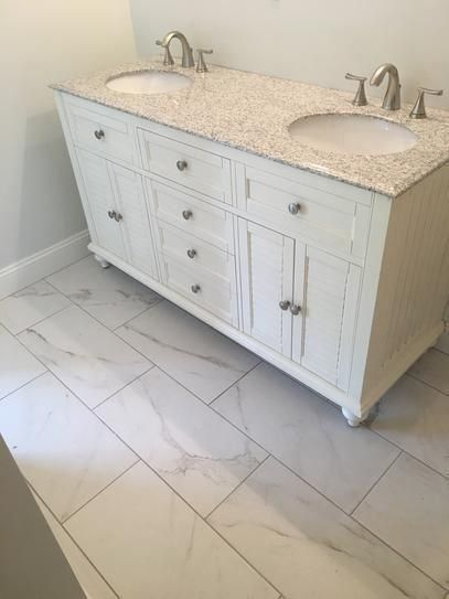 Porcelain Tiles Home Depot: Marazzi Developed By Nature Calacatta 12 In. X 24 In