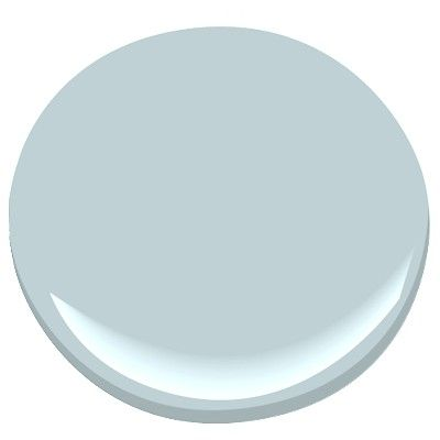 Benjamin Moore Silvery Blue-light mid-tone blue relies on a generous amount of gray to achieve subtle beauty