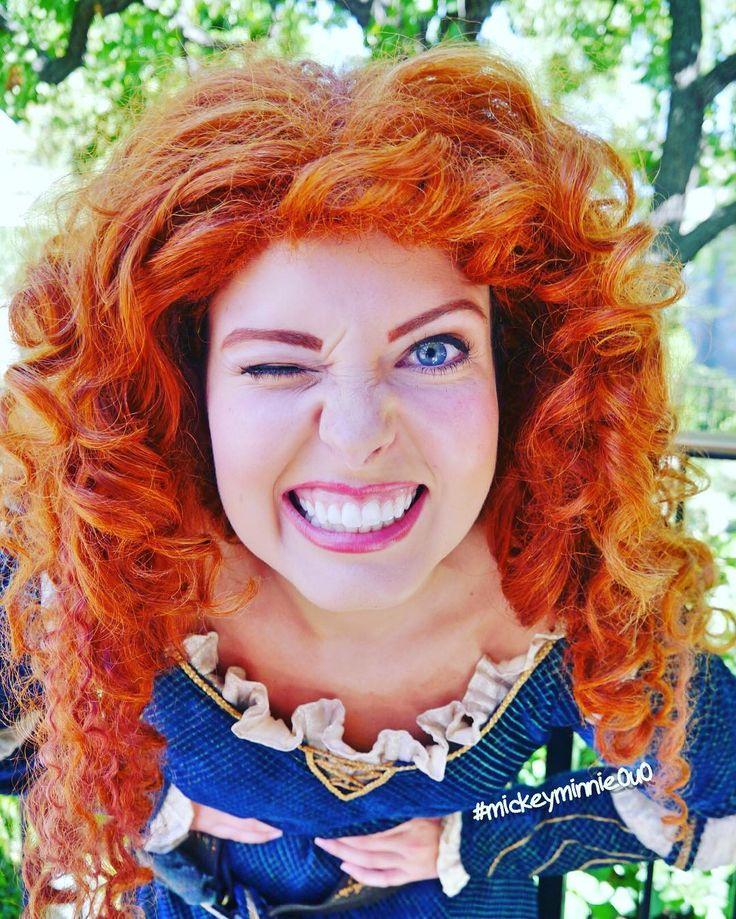 メリダーーヽ()ノ かわいいしカッコイイ #disney #disneyland #DLR #anaheim #disneyparks #disneypic #disneyphoto #disneygram #brave #disneyprincess #princessmerida #merida #greeting #ディズニー #ディズニーランド #アナハイム #グリーティング #ディズニー写真部 #プリンセス #グリ #姫 #メリダ #メリダとおそろしの森 #ディズニープリンセス by mickeyminnie0u0