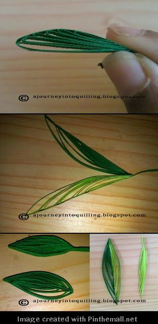 (Part 3 of 3)---written directions on post---http://ajourneyintoquilling.blogspot.com/2013/09/new-quilling-technique-tutorial-folded.html