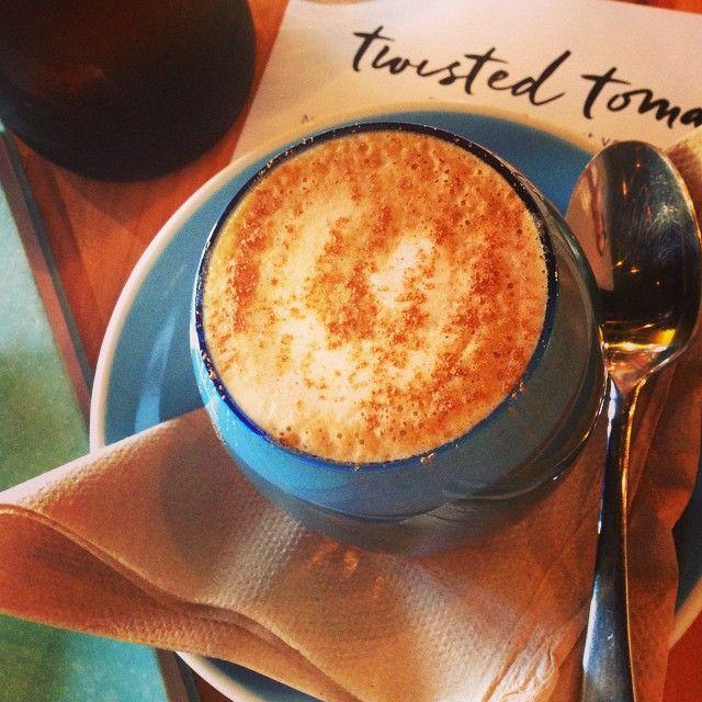 Dirty Chai - so hit the spot #spicy #caffeine #zomato #thetwistedtomato #brunch #rest
