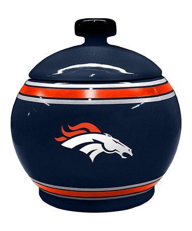 Love this Denver Broncos Game-Time Jar on #zulily! #zulilyfinds