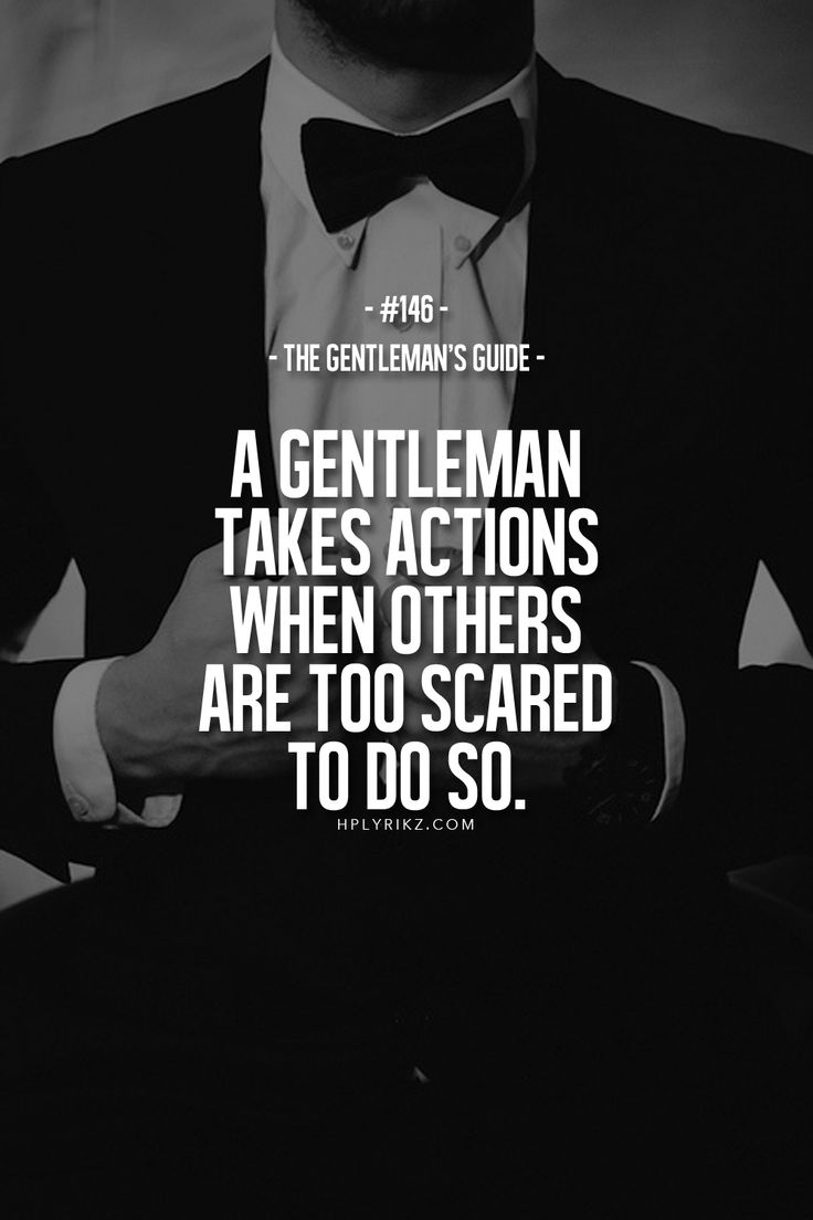 The Gentleman's Guide No 145