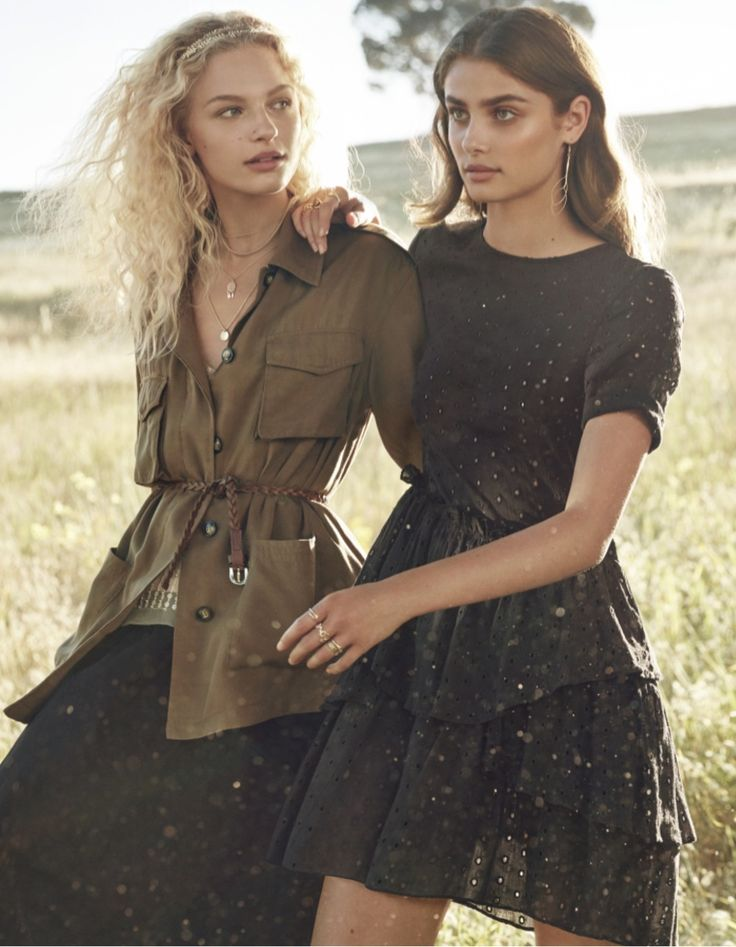 Frederikke Sofie & Taylor Hill star in H&M's spring-summer 2017 campaign