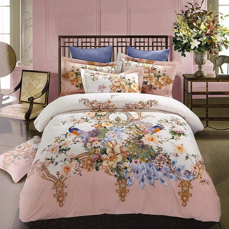 Alicemall Floral Bedding Luxury and Beautiful