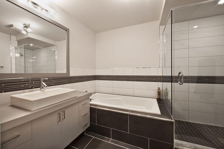 Salle de bain - maison de ville montreal Habitions Laurendeau