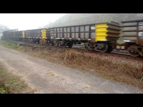 Trem de carga da Vale. - YouTube