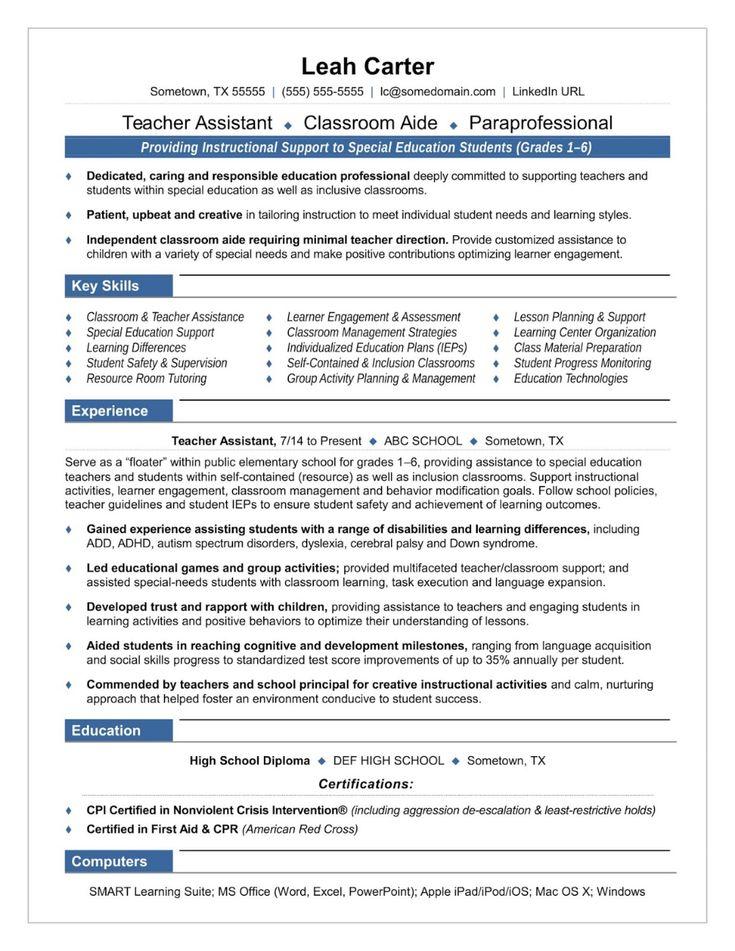 Preschool teacher resume sample 2019 preschool teacher