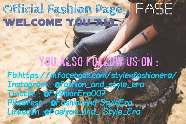 We are everywhere for you! 📫 Also Follow us on: Fb:https://m.facebook.com/stylenfashionera/ Instagram : @fashion_and_style_era  Twitter : @FAShionEra007  Pinterest : @FashionAnd StyleEra LinkedIn :@Fashion_And_ Style_Era   #fashion #fashionista #instafashion #fashionblogger #mensfashion #fashionable #fashionblog #streetfashion #fashiondiaries #FashionAddict #fashionstyle #fashiongram #womensfashion #fashionweek #fashionphotography #fashionpost #highfashion #kidsfashion #FashionDesigner…