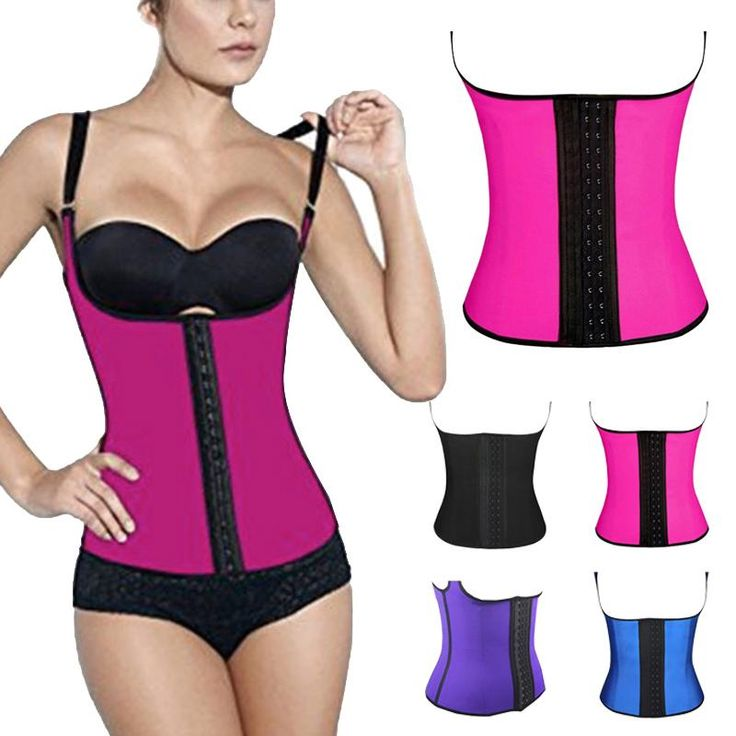 Check out this great offer I got!  #shopping Waist Trainer Latex Vest enhances your curves. When you use it durong your workout routine you achieve visibly results faster.  | Fitness Apparel for active women #workoutfit #fitness