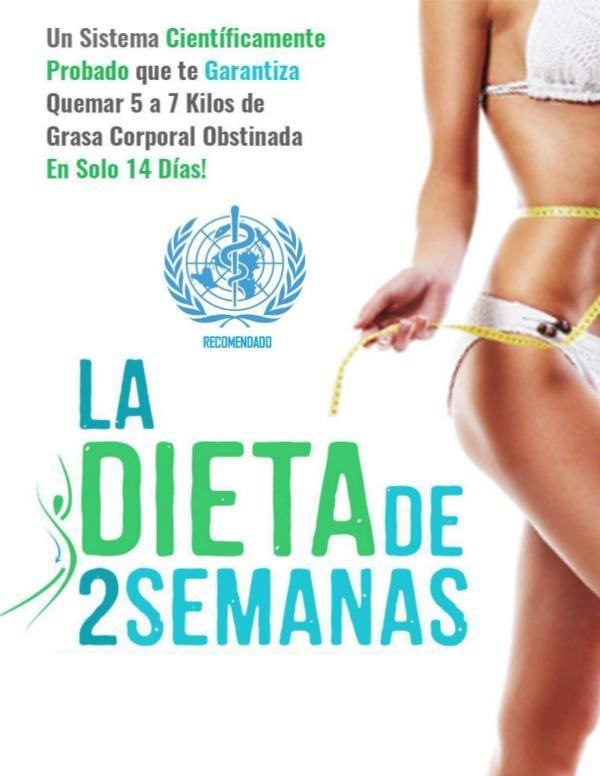 dieta para perder 2 kilos en dos semanas
